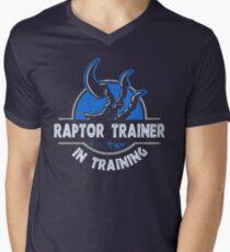 Raptor Trainer Men's V-Neck T-Shirt