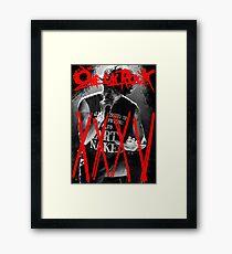 ONE OK ROCK! TAKA!! 35XXXV Framed Print