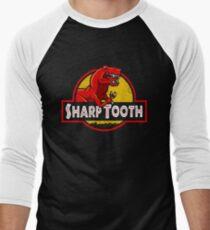 Sharp Tooth T-Shirt (Jurassic Park) Men's Baseball ¾ T-Shirt