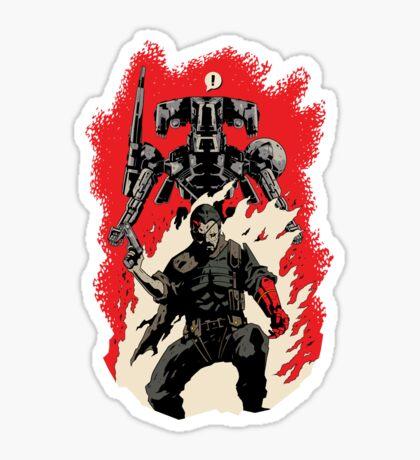 Hellboss Sticker