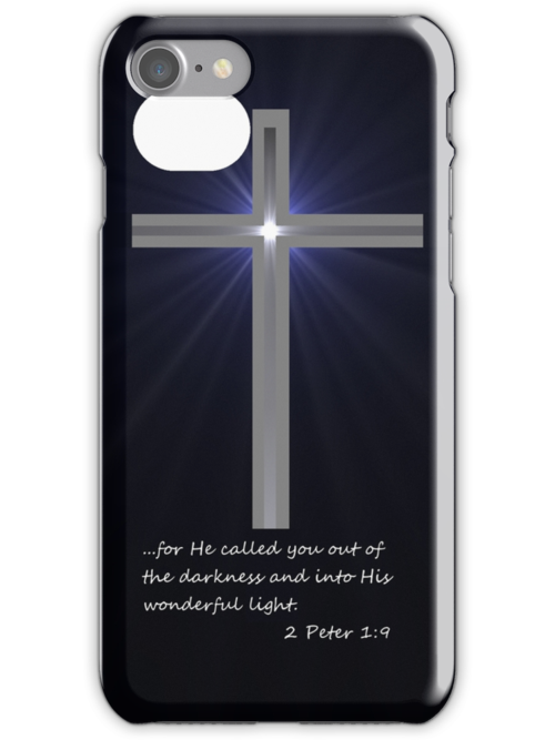 Apple iPhone Accessories--iPhone skin--His Light by JoeDavisPhoto