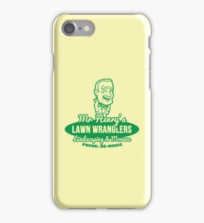 Bottle Rocket Lawn Wranglers  iPhone Case/Skin