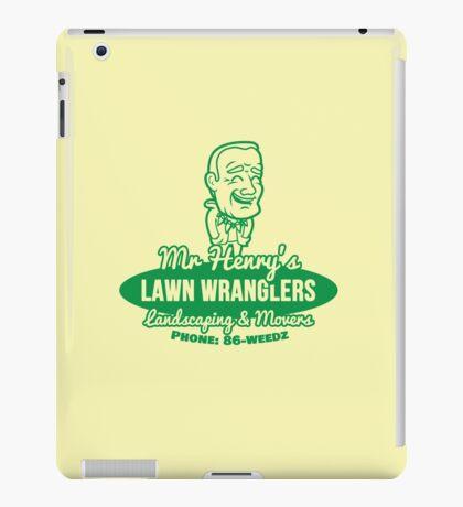 Bottle Rocket Lawn Wranglers  iPad Case/Skin
