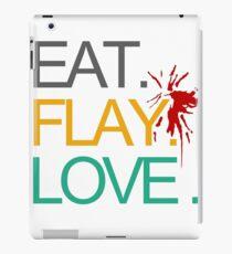 Eat. Flay. Love. iPad Case/Skin