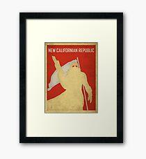 New Californian Republic - Poster Framed Print