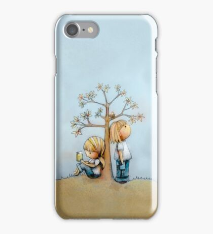 stop and smell the flowers iPhone case  iPhone Case/Skin