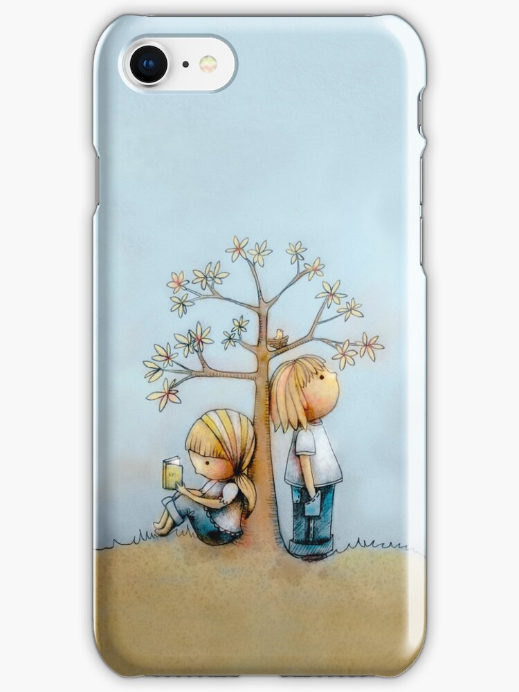stop and smell the flowers iPhone case  by © Karin Taylor