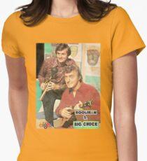 Hoolihan and Big Chuck T-shirt Womens Fitted T-Shirt