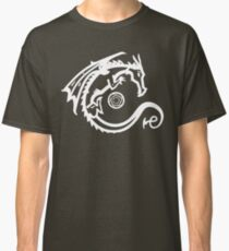 Dragon and Stone (for dark t-shirts) Classic T-Shirt