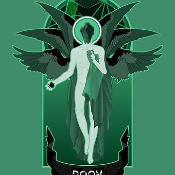 Winged Doom by designurvictory