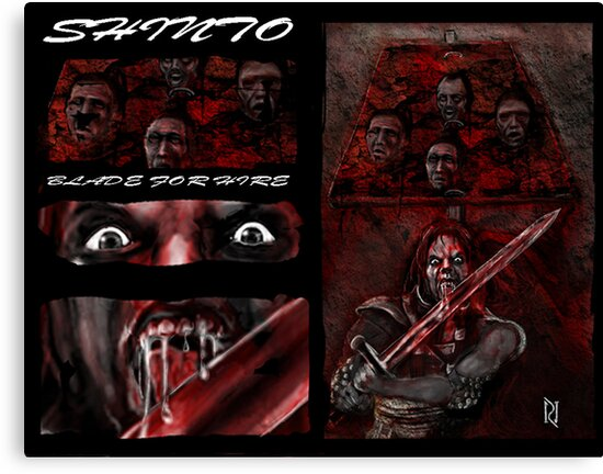 SHINTO; BLADE FOR HIRE! by Ray Jackson