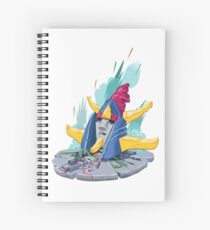 Raydeen destroyed Spiral Notebook