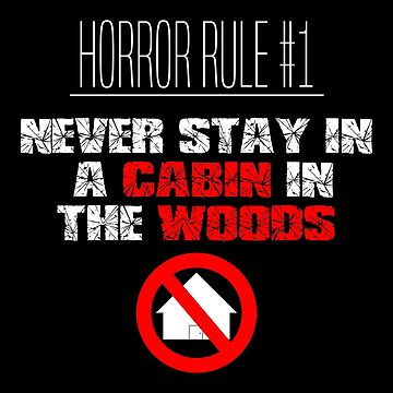 Horror Rule #1 by sjdesigns
