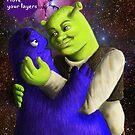 Shrek x Grimace by LuckyCharmKitty