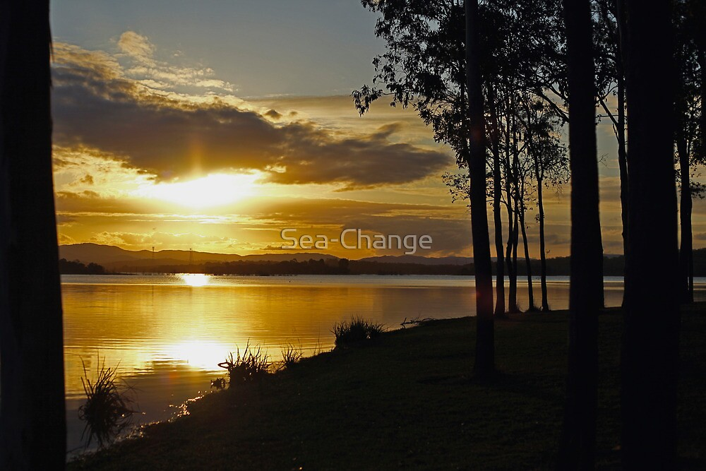 Evening's Golden Glow by Sea-Change