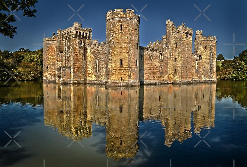 Bodiam Castle HDR by Geoff Carpenter