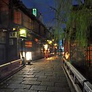 Dusk in Gion by S T