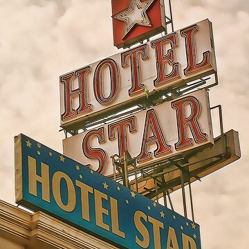 Green Parrot visits the Hotel Star by HappyDesigner