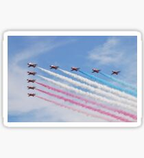 The Red Arrows at Airbourne Sticker