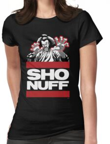 Sho Nuff old school  Womens Fitted T-Shirt