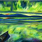 Aurora Borealis by mleboeuf