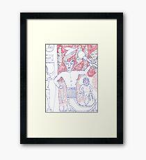 armed Framed Print