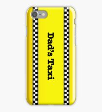 Dad's Taxi iPhone Case/Skin