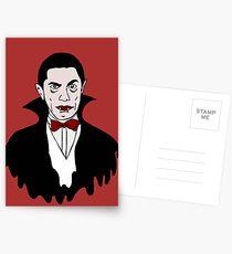 Dracula icon Postcards