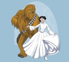 Princess & The Beast (Beauty & The Beast / Star Wars) T-Shirt