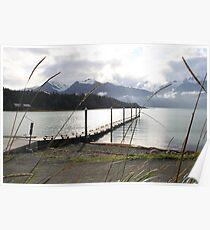 Mountain-side Lake Poster