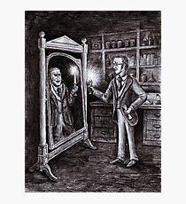 Dr. Jekyll and Mr. Hyde - Dark Mirror Photographic Print
