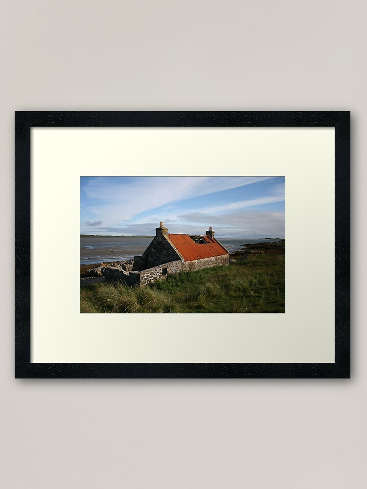 Alternate view of Rusty roof Framed Art Print