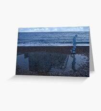 Magritte_Spirit of man 02 Greeting Card