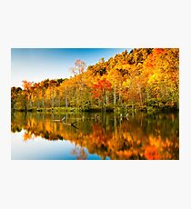 Reflections of Fall 2 Photographic Print