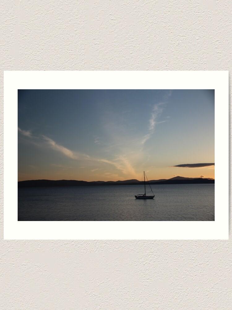 Alternate view of Sunset Art Print