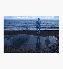 Magritte_Spirit of man 03 Photographic Print