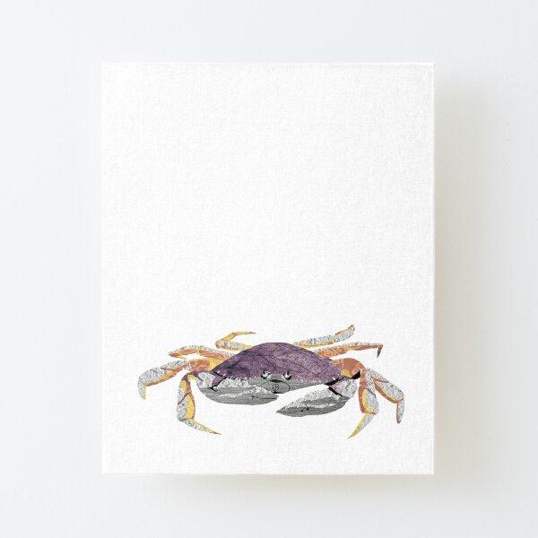 Crab - Laudea Martin Canvas Mounted Print