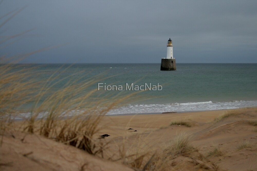 Rattray Head lighthouse by Fiona MacNab