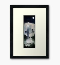 Glimmer of Light Amidst Framed Print