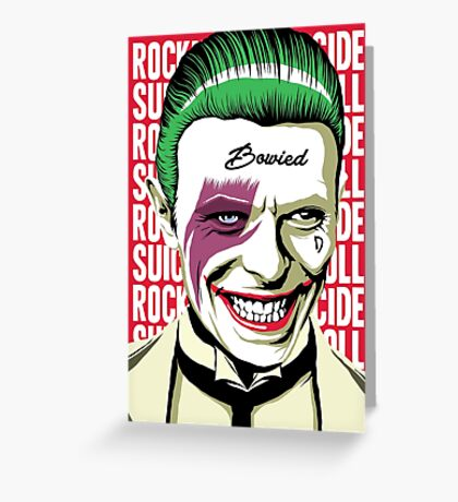 Rock'n'Roll Suicide Greeting Card