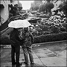 Lombard Street Rainy Day #2 by Patrick T. Power