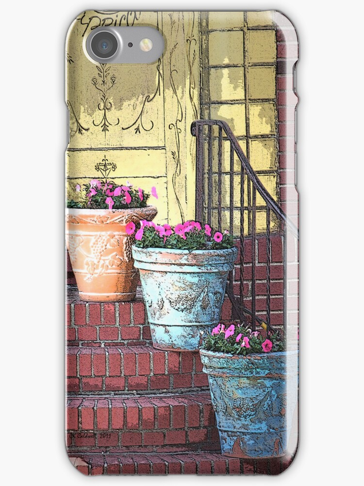 Three Flower Pots by © CK Caldwell IPA