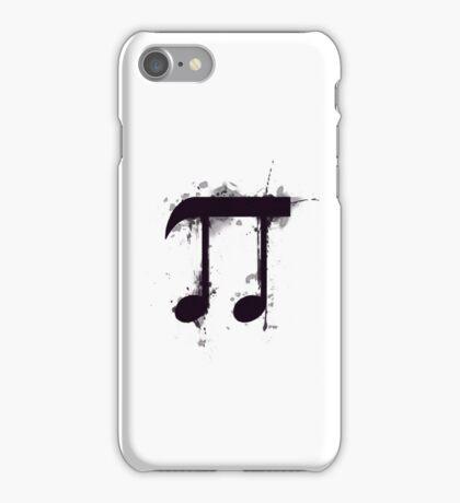 Pi note iPhone Case/Skin