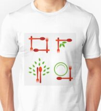 Organic cuisine artwork T-Shirt