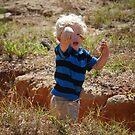 Throwin' Rocks...... by zpawpaw