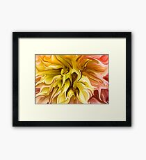 Watered Down Framed Print