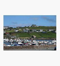 Symbister, Whalsay Photographic Print