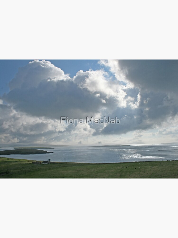 Clouds over Yell Sound by orcadia