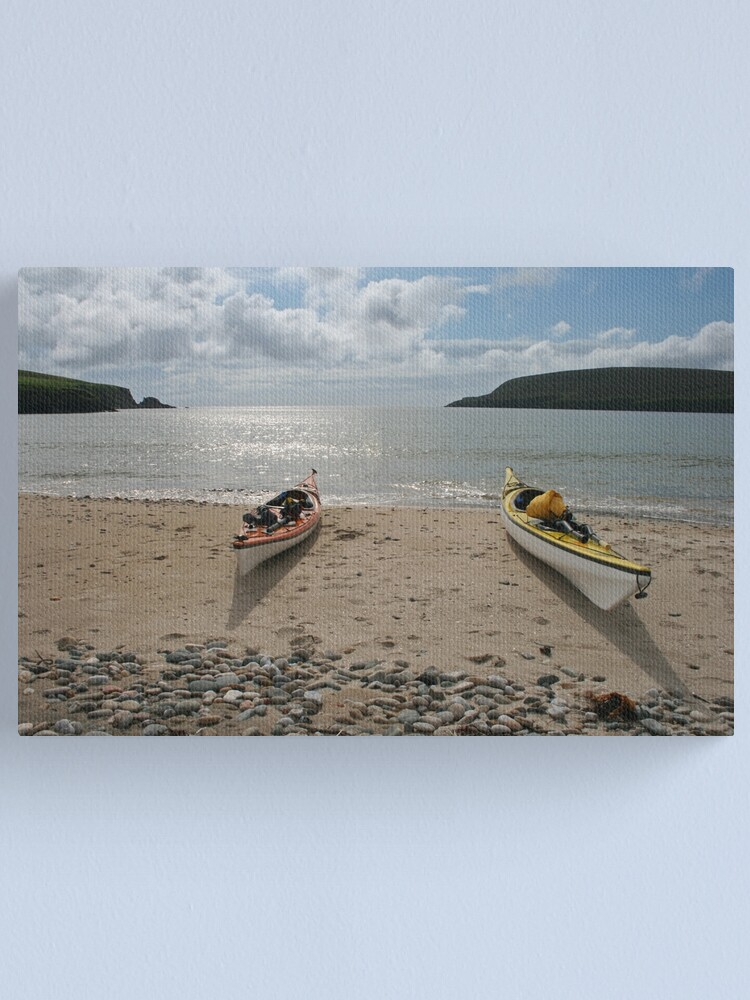 Alternate view of Perfect paddling Canvas Print