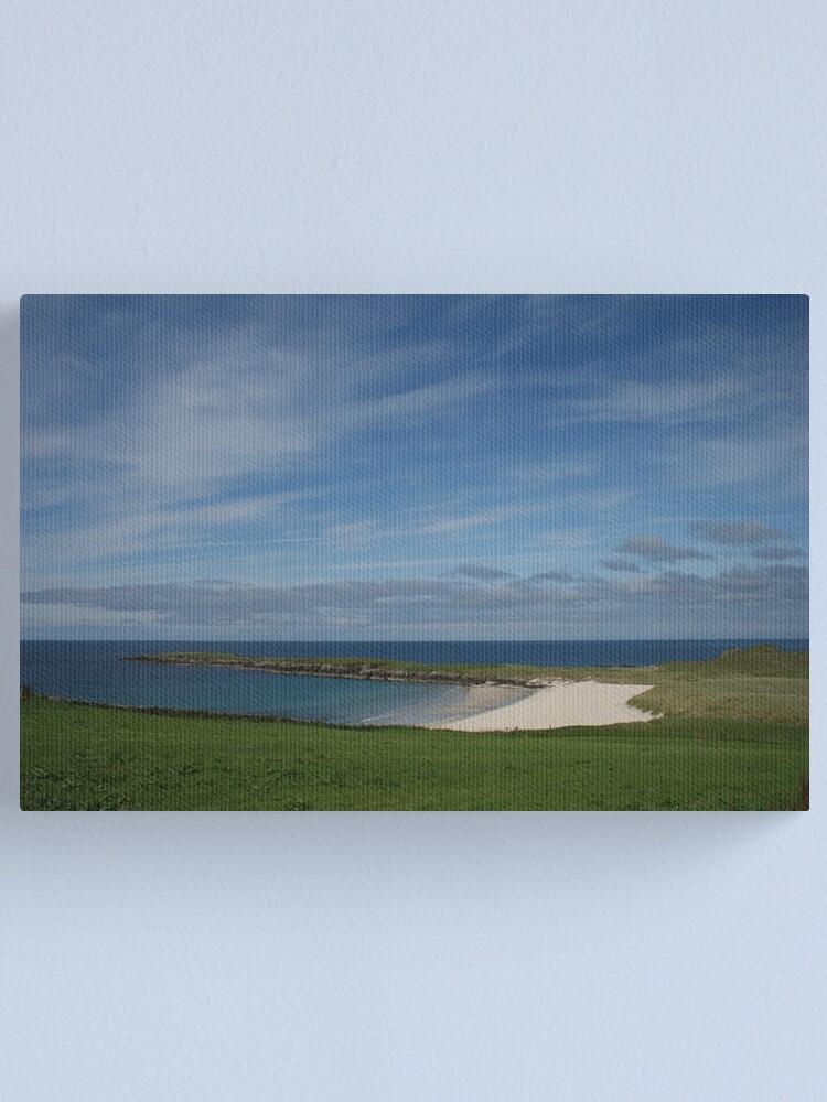 Alternate view of Shetland's Caribbean Canvas Print
